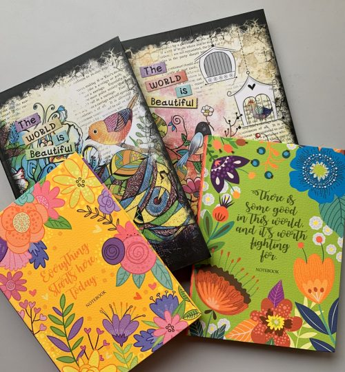 agenda colorata jurnal